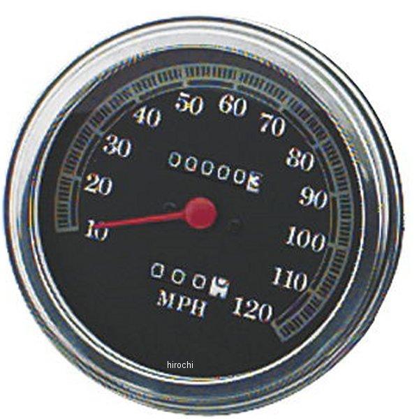 【USA在庫あり】 バイカーズチョイス Biker's Choice 5インチ FLタイプ スピードメーター ブラックフェイス 491320 HD