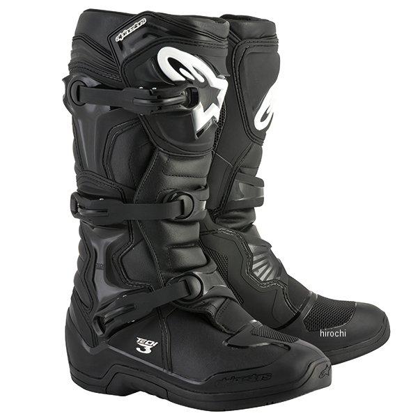 【メーカー在庫あり】 アルパインスターズ ブーツ テック3 黒 8サイズ 26.5cm 2013018-10-8 HD店