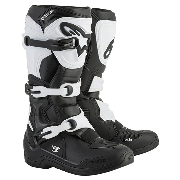 【メーカー在庫あり】 アルパインスターズ ブーツ テック3 黒/白 7サイズ 25.5cm 2013018-12-7 HD店