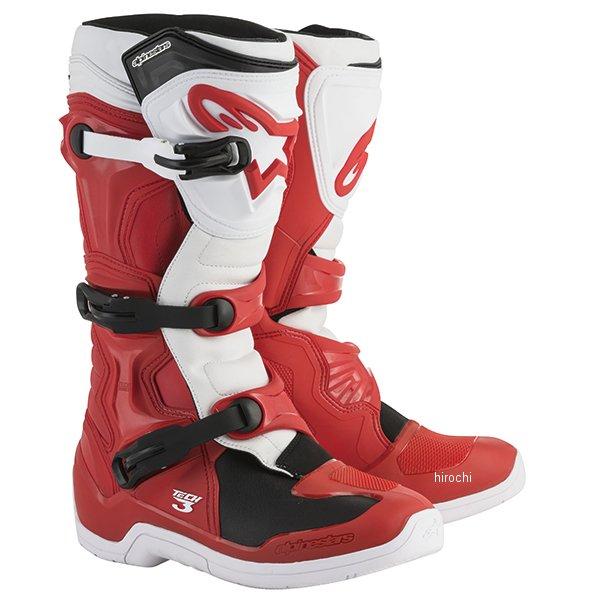 【メーカー在庫あり】 アルパインスターズ ブーツ テック3 赤/白 8サイズ 26.5cm 2013018-32-8 HD店