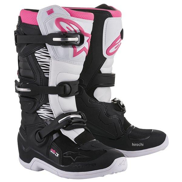 アルパインスターズ ブーツ ステラ テック3 ブーツ レディース 7サイズ 24.0cm 黒/白/ピンク 2013218-130-07 HD店