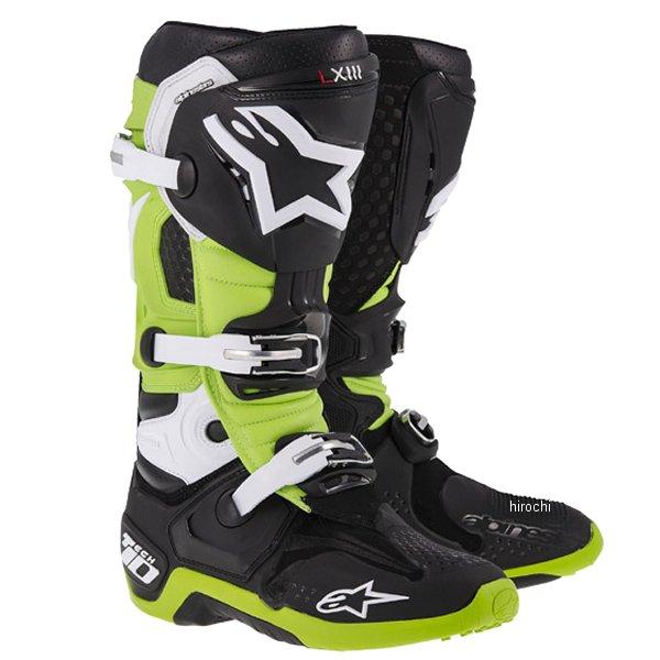 アルパインスターズ テック10 ブーツ 黒/緑 10サイズ 29.0cm 2010014-16-10 HD店