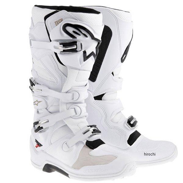 【メーカー在庫あり】 アルパインスターズ ブーツ テック7 白 6サイズ 25.0cm 2012014-20-06 HD店
