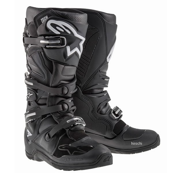 【メーカー在庫あり】 アルパインスターズ ブーツ テック7 エンデューロ 黒 5サイズ 24.0cm 2012114-10-05 HD店