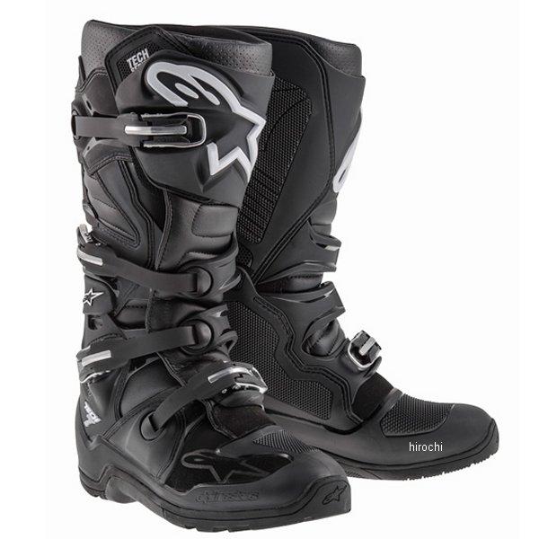 【メーカー在庫あり】 アルパインスターズ ブーツ テック7 エンデューロ 黒 8サイズ 26.5cm 2012114-10-08 HD店