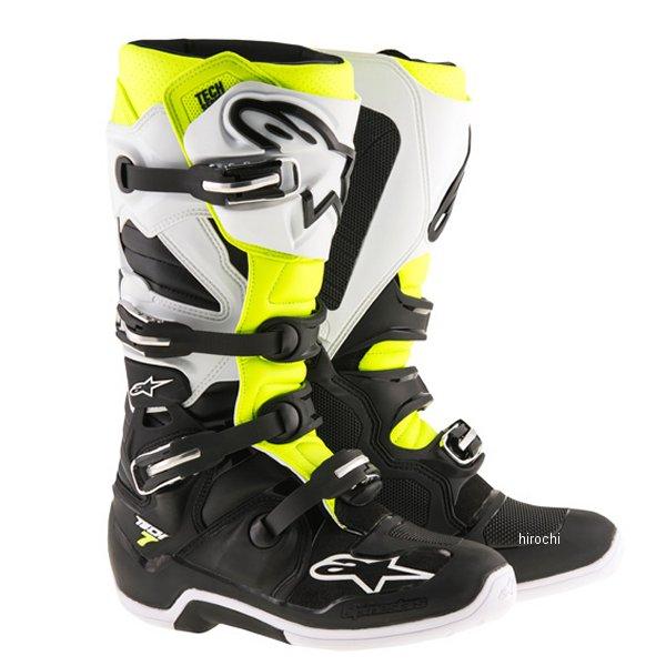 アルパインスターズ テック7 ブーツ 黒/白/黄7サイズ 25.5cm 2012014-125-07 HD店