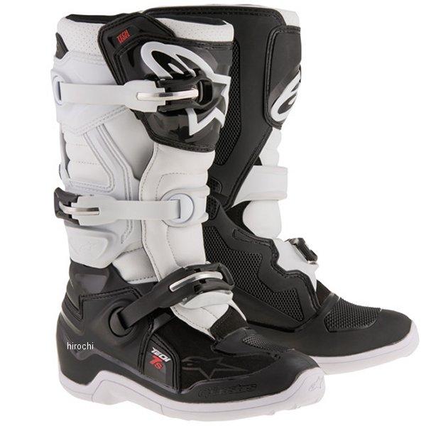 【メーカー在庫あり】 アルパインスターズ ブーツ テック7S ユース用 黒/白 5サイズ 24.0cm 2015017-12-5 HD店