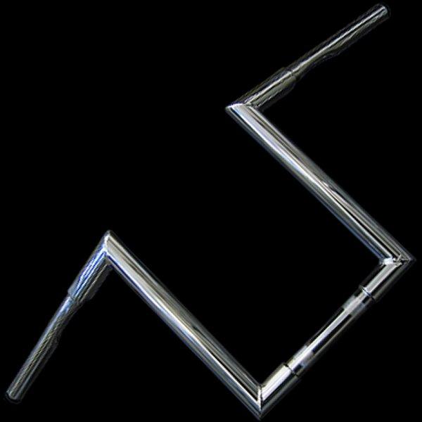 【メーカー在庫あり】 ネオファクトリー 12インチ ファット Zバーハンドル クローム 000362 HD店