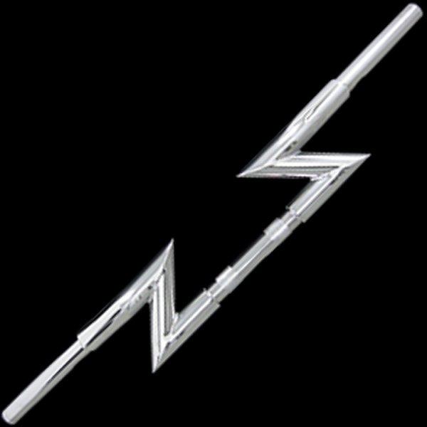 【メーカー在庫あり】 ネオファクトリー ファット クレイジー Zバーハンドル クローム 000364 HD店