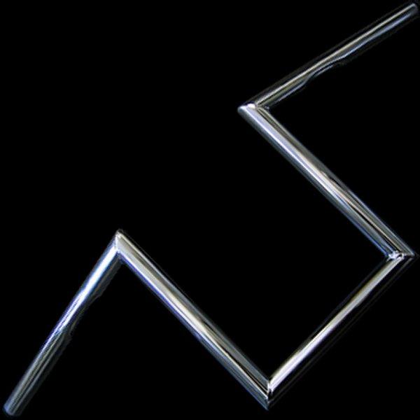 【メーカー在庫あり】 ネオファクトリー 10インチ Zバーハンドル クローム ヘコミ無し 000372 HD店