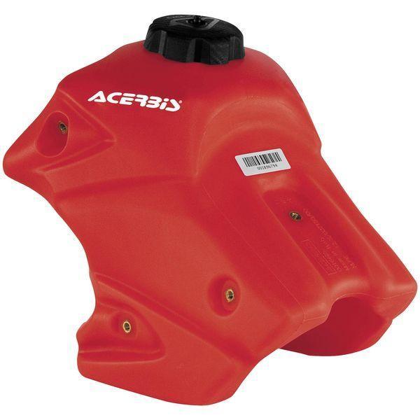 【USA在庫あり】 アチェルビス ACERBIS フューエルタンク 07年以降 CRF150R 1.7ガロン 赤 730743 HD