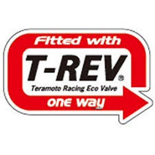 テラモト TERAMONO T-REV ステッカー FITTED WITH 641 HD店