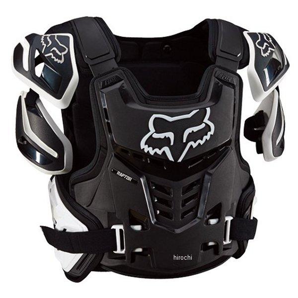 【メーカー在庫あり】 フォックス FOX プロテクター ラプターCEベスト 黒/白 L/XLサイズ 12351-018-L/XL HD店