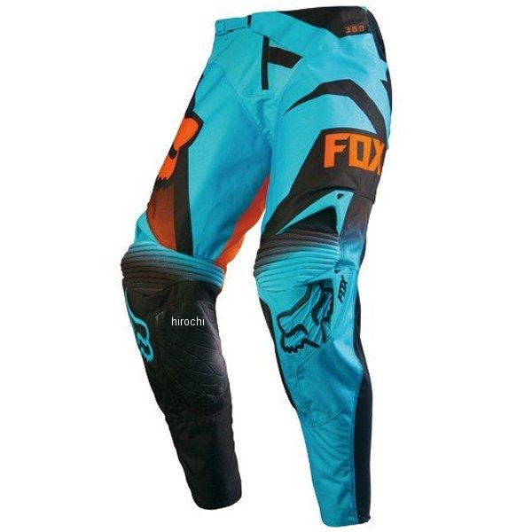 【メーカー在庫あり】 フォックス FOX 360パンツ シブ アクア 34インチ 14666-246-34 HD店