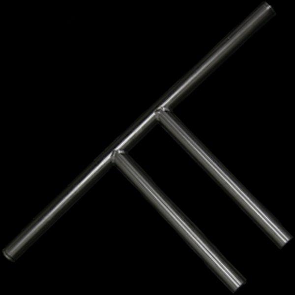 【メーカー在庫あり】 ネオファクトリー ストレートライザーバー 10インチ ブラック 011692 HD店