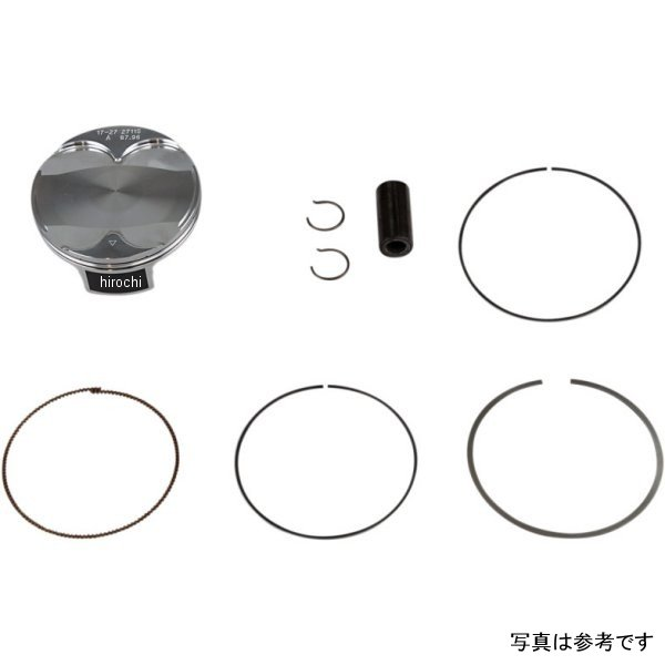 【USA在庫あり】 バーテックス Vertex 鋳造ピストンキット 18年 YZ450F 96.95mm 0910-5197 HD店