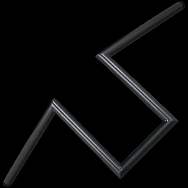 【メーカー在庫あり】 ネオファクトリー ヘコミ無し 10インチ ナローZバーハンドル ブラック 006864 HD店