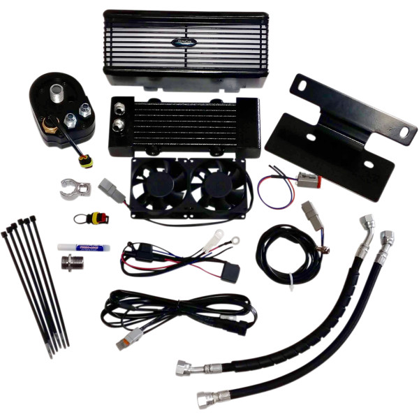 【USA在庫あり】 ウルトラクール ULTRACOOL OIL COOLER KIT FLH BLK 0713-0150 HD店
