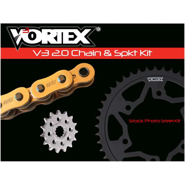 【USA在庫あり】 ボルテックス Vortex CHAIN KIT GSX-R1000 GOLD 1230-1201 HD店