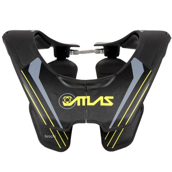 【メーカー在庫あり】 アトラス ATLAS ブレース カーボングロー 黒 Lサイズ AC2-01-020 HD店