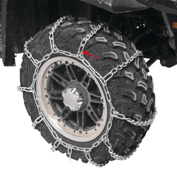 【USA在庫あり】 クワッドボス QUADBOSS タイヤ チェーン エクトララージ 2個入り 563557 HD店