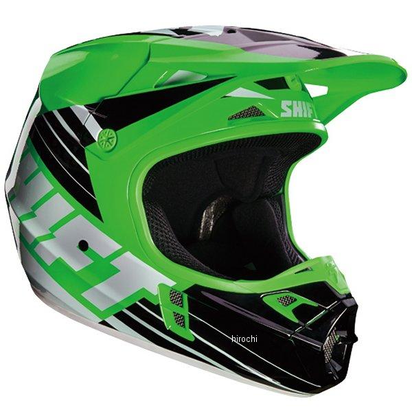 【メーカー在庫あり】 シフト SHIFT ヘルメット アザルト レース 緑 Mサイズ 16108-004-M HD店