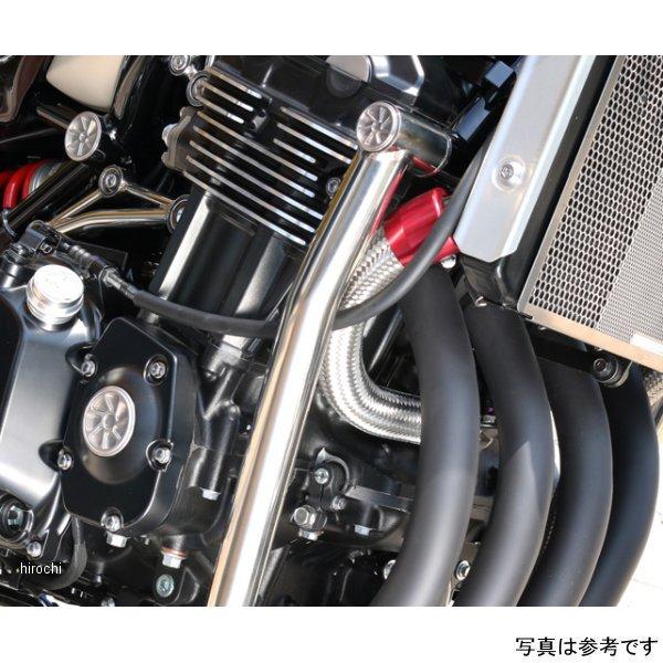ピーエムシー PMC ラジエターホース コアIN Z900RS 赤 189-2222 HD店