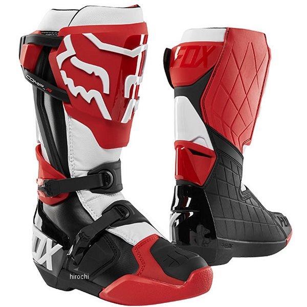 【メーカー在庫あり】 フォックス FOX ブーツ コンプ-R 赤/黒/白 10サイズ 27.0cm 22959-056-10 HD店