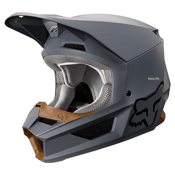 【メーカー在庫あり】 フォックス FOX オフロードヘルメット V1 マット ストーン Lサイズ (59cm-60cm) 21828-224-L HD店