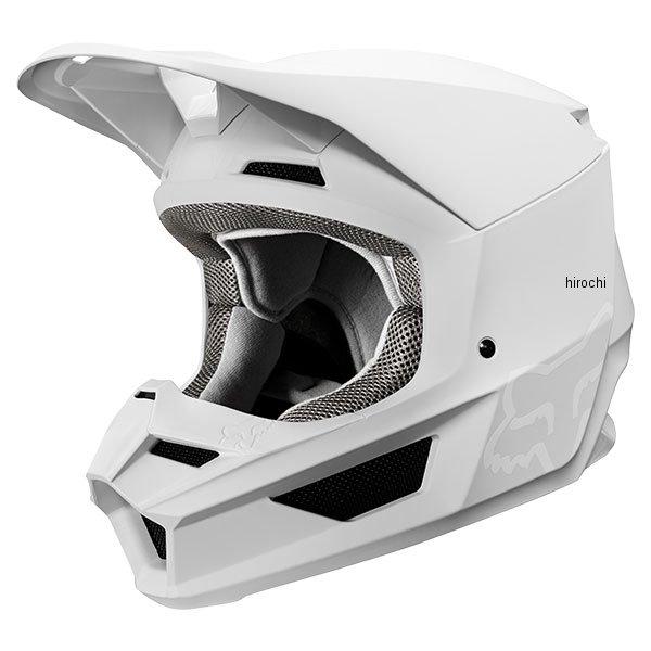 【メーカー在庫あり】 フォックス FOX オフロードヘルメット V1 マット 白 Sサイズ (55cm-56cm) 21828-008-S HD店