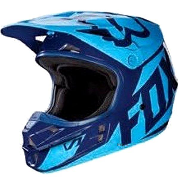 【メーカー在庫あり】 フォックス FOX オフロードヘルメット V1 レース ネイビー XLサイズ (61cm-62cm) 17343-007-XL HD店