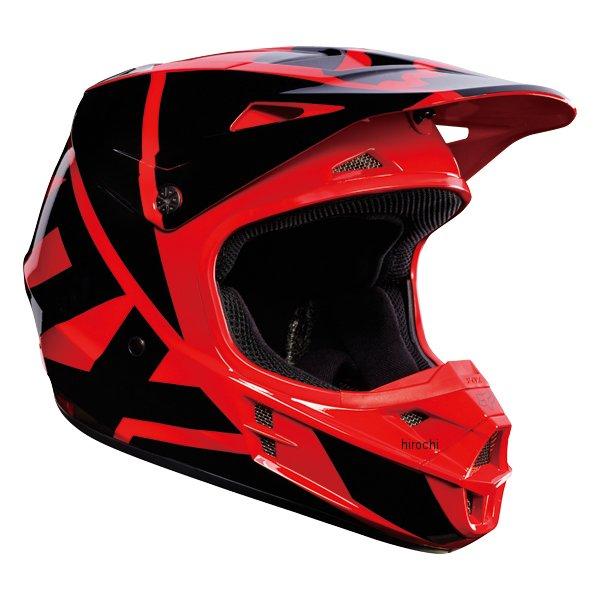 【メーカー在庫あり】 フォックス FOX オフロードヘルメット V1 レース 赤 Sサイズ (55cm-56cm) 17343-003-S HD店
