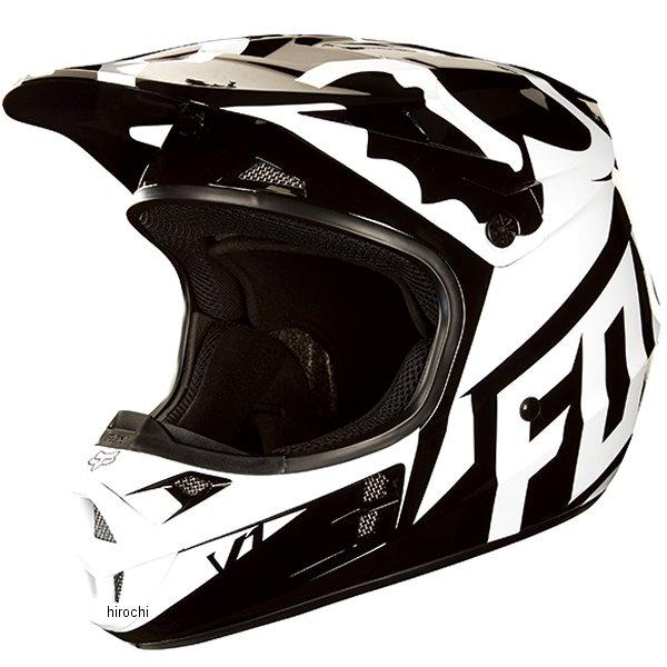 【メーカー在庫あり】 MX18 フォックス FOX オフロードヘルメット V1 レース 黒 Mサイズ (57cm-58cm) 19531-001-M HD店