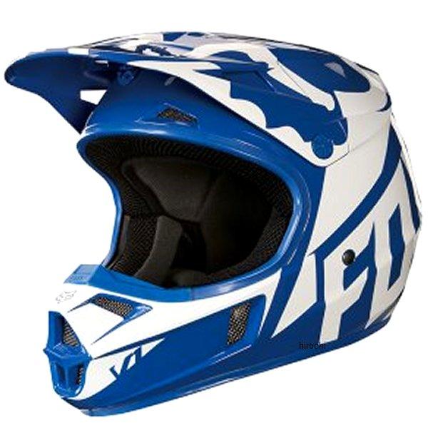 【メーカー在庫あり】 フォックス FOX オフロードヘルメット V1 ユース用 レース 青 YSサイズ (47cm-48cm) 19541-002-S HD店
