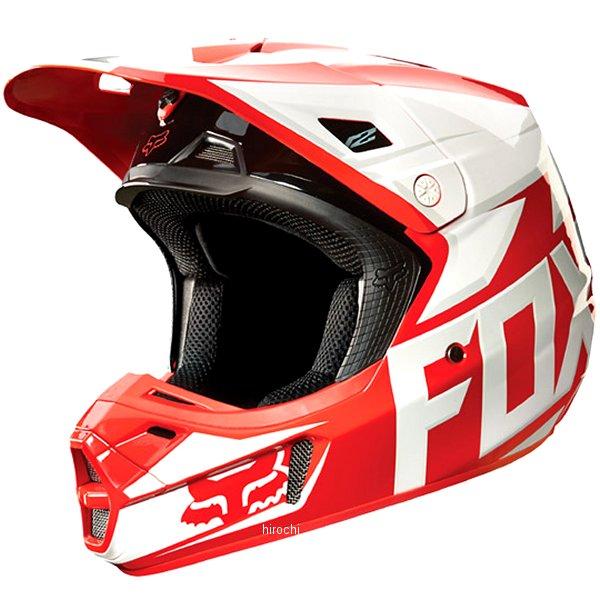 【メーカー在庫あり】 フォックス FOX オフロードヘルメット V2 レース 赤 Lサイズ (59cm-60cm) 11080-003-L HD店
