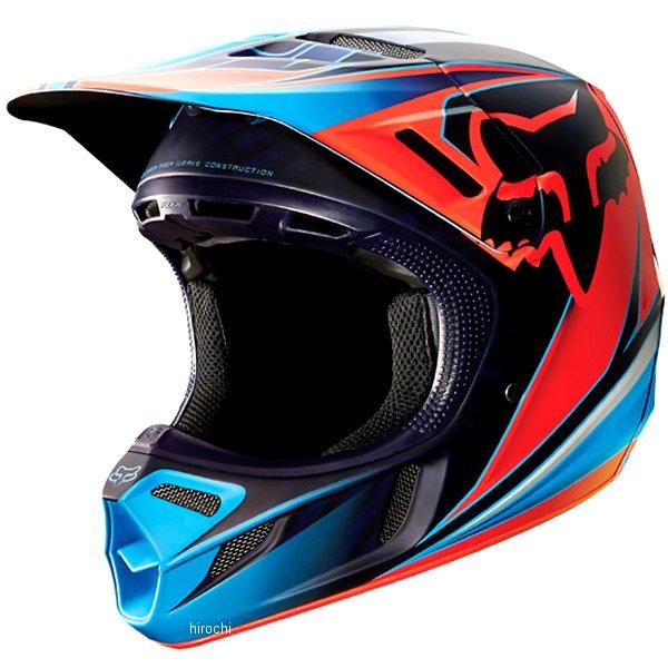 【メーカー在庫あり】 フォックス FOX V4 オフロードヘルメット V4 レース赤 Lサイズ (59cm-60cm) 11602-003-L HD店