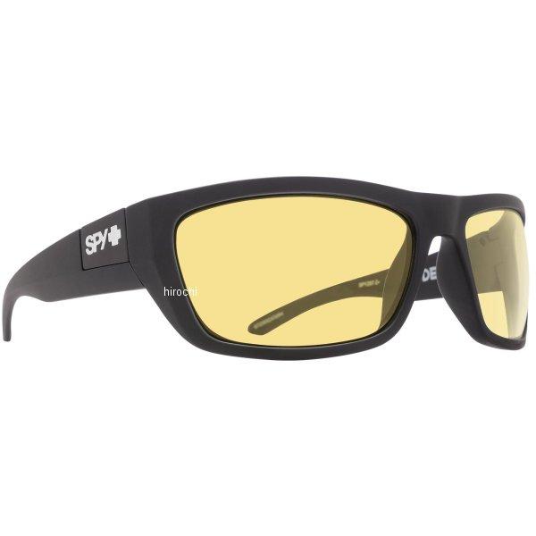 スパイ SPY サングラス DEGA マットブラック ANSI RX ハッピーイエロー 673368243440 HD店