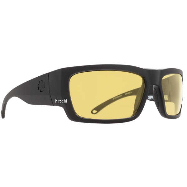 スパイ SPY サングラス ROVER マットブラック ANSI RX ハッピーイエロー 673372243440 HD店