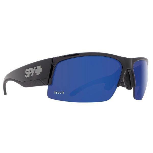 スパイ SPY サングラス FLYER ブラック ポーラー/ダークブルースペクトル 673344038473 HD店