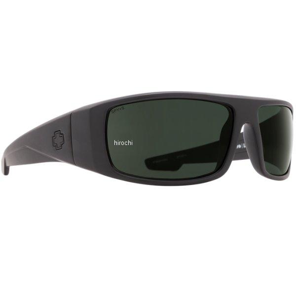 スパイ SPY サングラス LOGAN マットブラック ANSI RX メンズ 670939243863 HD店
