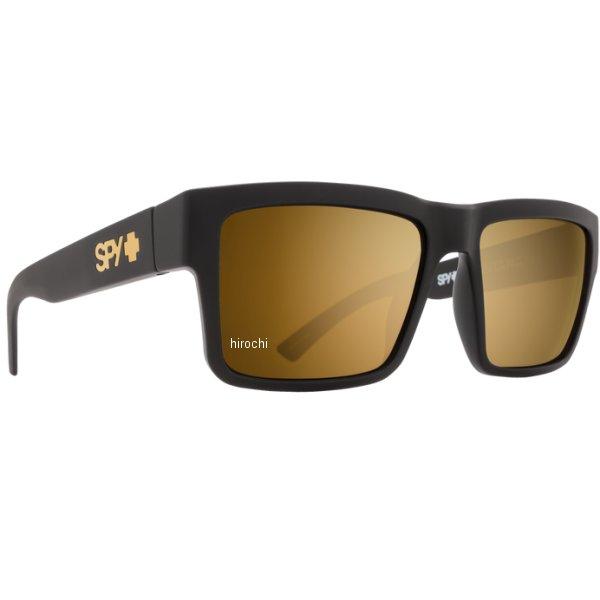 スパイ SPY サングラス MONTANA ソフトマットブラック ゴールドミラー 673407973417 HD店