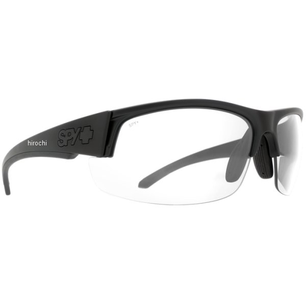 スパイ SPY サングラス SPRINTER マットブラック ANSI RX - クリア 673502243094 HD店