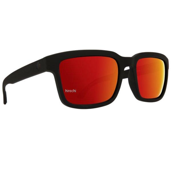 スパイ SPY サングラス HELM2 マットブラック ハッピーグレーグリーン/赤 673520973365 HD店