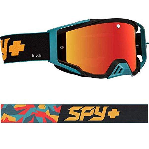【メーカー在庫あり】 スパイ SPY MXゴーグル Foundation カモオレンジ/スモークカラーシルバー 323506134856 HD店