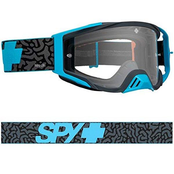 【メーカー在庫あり】 スパイ SPY MXゴーグル Foundation メイズブルー/クリア 323506980096 HD店
