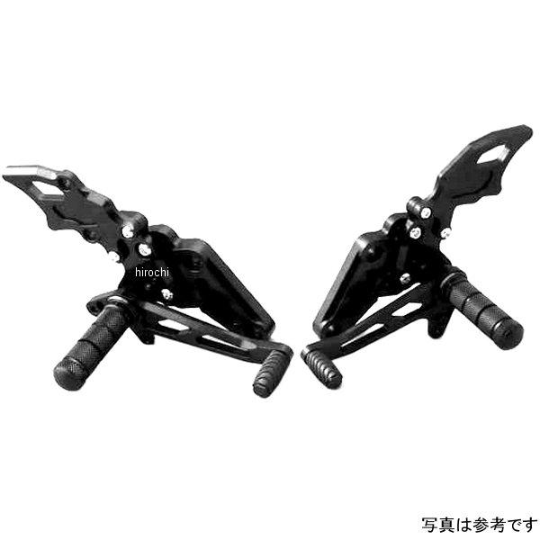 ダブルアールズ WR'S バトルステップ タイプR ゼファー1100、ゼファー1100RS 黒 0-45-BK4114