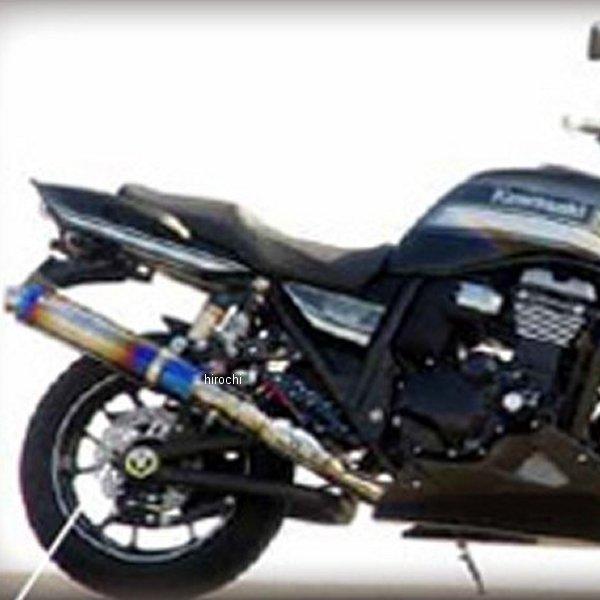 サンセイレーシング SANSEI RACING スリップオンマフラー ジニック ZNIC 全年式 ZRX1200ダエグ チタン 0-22-ZST4118J