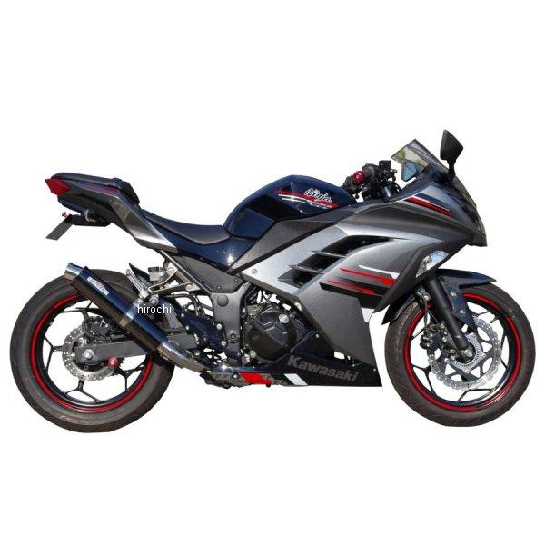 サンセイレーシング SANSEI RACING スリップオンマフラー ジニック ZNIC Ninja250、Z250 黒ステンレス 0-22-ZSB4214J
