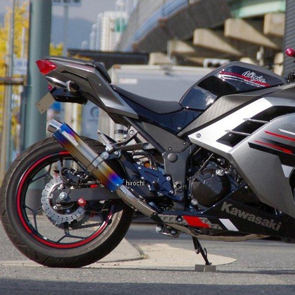 サンセイレーシング SANSEI RACING フルエキゾースト ジニック ZNIC Ninja250、Z250 ステンレス/チタン 0-22-ZFT4215J