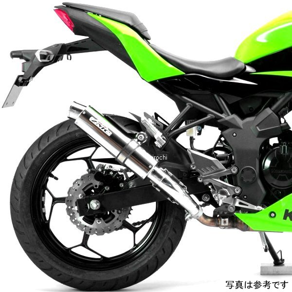 サンセイレーシング SANSEI RACING スリップオンマフラー ジニック ZNIC Ninja250SL、Z250SL チタン 0-22-ZST4220J